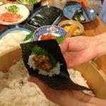 手巻き寿司をつくる